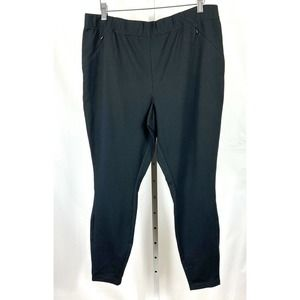 J. Jill Ponte Leggings Stretch Black L NWT $79
